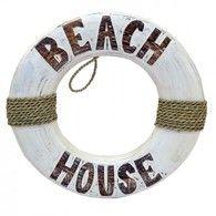 Beach Home Decor - Life Buoy
