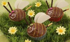 Bienchenmuffins für Kinder http://www.oetker.de/rezepte/r/bienchenmuffins-fuer-kinder.html