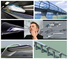#sustainability #energy  The Solar Powered HyperLoop in California.  The travel time between San Francisco and Los Angeles is estimated to be 30 minutes via the Hyperloop.  http://www.solarfeeds.com/the-solar-powered-hyperloop/