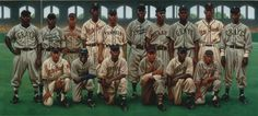 1939 Negro League East All Star team: top row (L to R): Buck Leonard, Willie Wells, Jose Fernandez, Sammy Hughes, George Scales, Mule Suttles, Pat Patterson, Josh Gibson, Wild Bill Wright, Roy Partlow Front Row (L to R) Bill Byrd, Leon Day, Bill Holland, Cando Lopez, Goose Curry, Red Parnell