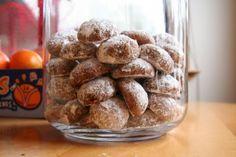 Less Sweet Holiday Treats: Pfeffernusse Cookies Christmas Food Gifts, Holiday Treats, Christmas Baking, Christmas Recipes, Christmas Eve, Xmas, My Recipes, Cookie Recipes, Favorite Recipes
