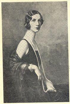 "girlflapper: ""Portrait of Antónia de Faria (Brazilian), by Italian painter Boni. Portuguese magazine Ilustração, No. 114, September 16 1930. """