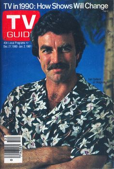 "Tom Selleck as Thomas Magnum in ""Magnum PI"" (1980-1988) My all-time favorite television show."