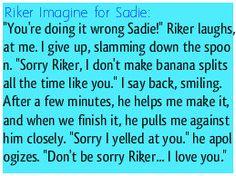 Riker Imagine for Sadie! Enjoy! <3