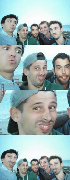 A good old face swap - 9GAG