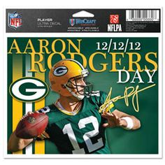 Aaron Rodgers Day 12/12/12
