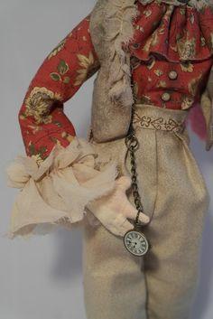 Коллекционная текстильная кукла Безумный Шляпник
