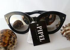 """Vintage Brillen - ☮ Sonnenbrille """"Hippie-Style""""Schwarz☮ - ein Designerstück von Camden-Market bei DaWanda"""