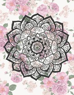Mandala Flower by Fla Braun