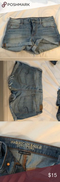 Brand new: size 10 American Eagle shorts Brand new size 10 American Eagle shorts, one pair for 15 or three for 35! Shorts Jean Shorts