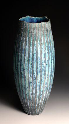 gorgeous aqua vase