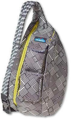 LL Bean Ameribag Black Leather Healthy Back Backpack Sling Bag ...
