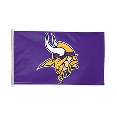 Minnesota Vikings NFL 3x5 Banner Flag (36x60)