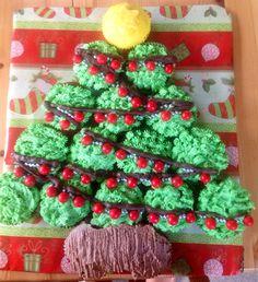 Pull apart Christmas cupcake tree