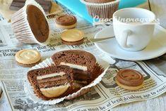 MUFFIN RINGO E CIOCCOLATO semplici, veloci, originali e super golosi. Queste tortine, ideali per la prima colazione o la merenda