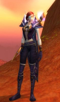 Transmogrification outfit complete!