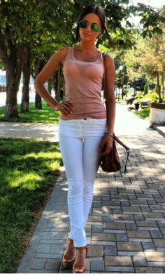 Simple summer outfit @katerina_kramskaya