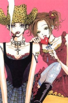Nana by Yazawa Ai Nana Anime, Nana Manga, Manga Art, Anime Art, Yazawa Ai, Photowall Ideas, Nana Osaki, Personajes Monster High, Japon Illustration