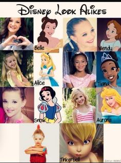 Princesses/fairies look alike to dance moms