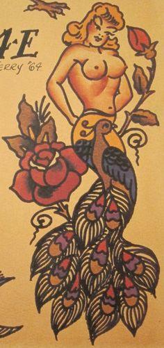 Sailor jerry gypsy girl pinterest sailor jerry tattoo for Sailor jerry gypsy tattoo