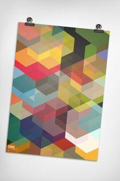 Cuben Array // Simon C. Page #geometric