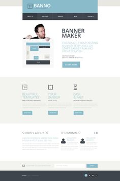 'Bnno Business' #webdesign HTML #Responsive http://www.zign.nl/responsive-templates.html