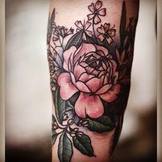 Amazing Rose Forearm Tattoo Design | Cool Tattoo Designs