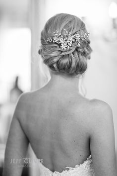 Beautiful Wedding Up-do Accessories
