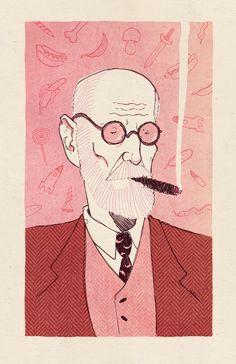 Sigmund Freud © Magdalena Szymaniec