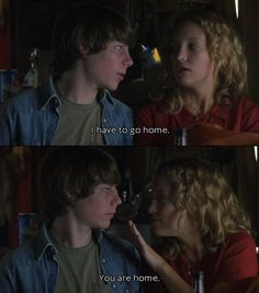 Patrick Fugit and Kate Hudson, Almost Famous . My favorite moment. Patrick Fugit and Kate Hudson, Movies Showing, Movies And Tv Shows, Patrick Fugit, Almost Famous Quotes, It's All Happening, You Are Home, Movie Lines, Famous Movies, Tiny Dancer