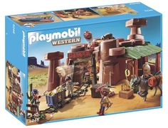 Jeu de construction PLAYMOBIL (2013) 5246 - Mine d'or avec explosif