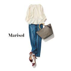 ハッピーなきれい色コーデから大人のピンクシャツコーデまで【アラフォーの1週間コーデ】 | ファッション誌Marisol(マリソル) ONLINE 40代をもっとキレイに。女っぷり上々! Denim Fashion, Womens Fashion, Hijab Casual, Complete Outfits, Japanese Fashion, Summer Wardrobe, Simple Dresses, Blue Jeans, Cute Outfits