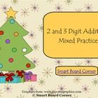 I created this to help students practice 2 and 3 digit addition. There are some problems with and without regrouping.  This is a self checking acti...