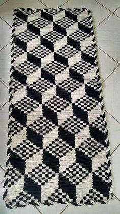 Black And White Seamless Pattern From No - Diy Crafts Crochet Rug Patterns, Crochet Motif, Diy Crochet, Crochet Designs, Crochet Doilies, Crochet Stitches, Bargello Needlepoint, Broderie Bargello, Granny Square Häkelanleitung