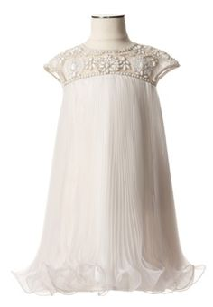 Art Deco Flower Girl Dress :  wedding FG Dress