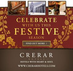 Christmas, Twixmas and New Year Breaks Festive Breaks 2017 Choose from one of these traditional, beautifully-situated hotels in Scotland and Yorkshire. Have a break here, take friends and family and enjoy all the festivities in high style without all the bother of doing it yourself. You deserve a break at the end of the year! Read More