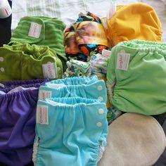 Nyinkommet från muksut; all-in-one, pocket, formsydda blöjor, ytterblöjor och potträningsbyxor.