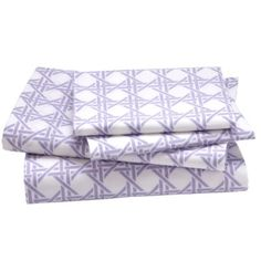 Lattice Sheet Set (Lavender).