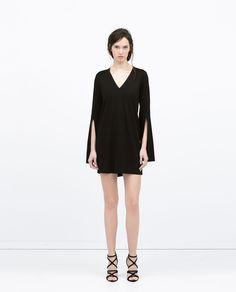 Image 1 of OPEN SLEEVE DRESS from Zara