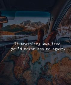 101 best travel quotes, sayings and images to inspire you Positive Quotes, Motivational Quotes, Inspirational Quotes, Wanderlust Quotes, Best Travel Quotes, Travel Words, Love Life Quotes, Adventure Quotes, Short Quotes