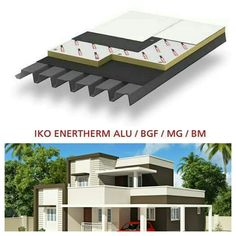 Iko enertherm for flat roof insulation can give benefit for your house.  BENEFITS:  *Lightweight boards and therefore easier to handle. *Less volume for the same insulation value. *Fit for walking on during the work and after. *Can be installed quickly and easily. *High dimensional stability and compressive strength.  ☎03-40319455  📲whatsapp at 019-656 0961 💻www.1atap.com.my/enertherm
