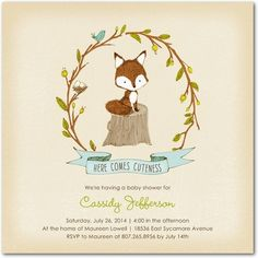 Cuddly Cuteness: Lightest Turquoise - Baby Shower Invitations in Lightest Turquoise | Hallmark