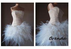 Suknia wieczorowa ślubna sukienka poprawiny BRENDA