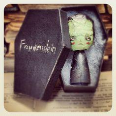 The Frankenstein Monster by Danita Art, via Flickr