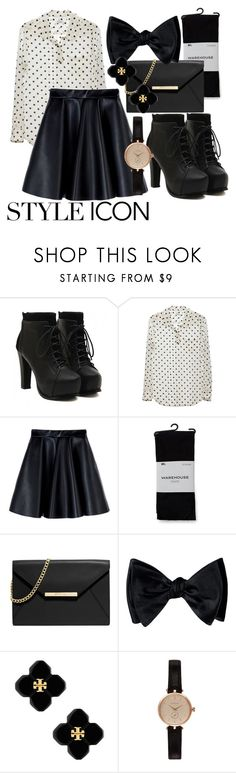 """Untitled #177"" by valdera ❤ liked on Polyvore featuring Equipment, MSGM, Warehouse, MICHAEL Michael Kors, Tory Burch and Barbour"