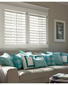 Our Most Popular Wooden Shutter Style, The 2 Louvers Let You Enjoy Generous  Views When Open, And They Work Well In Windows Of Any Size.