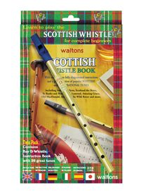 Music Book /& CD Feadog Irish Tin Penny Whistle in D Learn How To Play Whistle