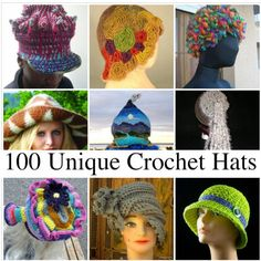 unique crochet hats