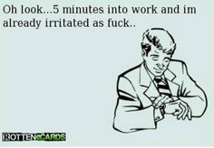 My life every single morning I work with one person specifically.