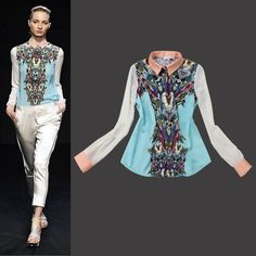 Transformers Printed Inlay Color Lapel Spell Color Long Sleeve Shirt [ – Obuzu